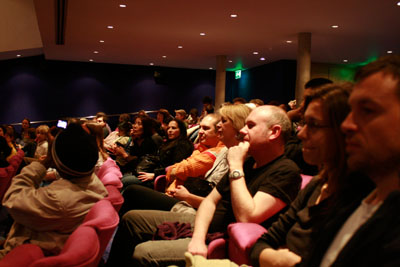 audience at q&a